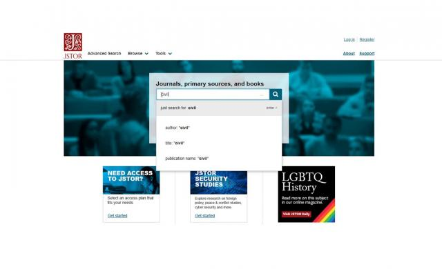 JSTOR isn't Google: How to use search to find articles and ebooks on JSTOR